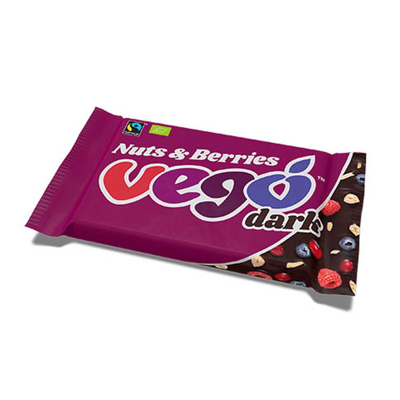 Vego Dark Nuts & Berries  85g
