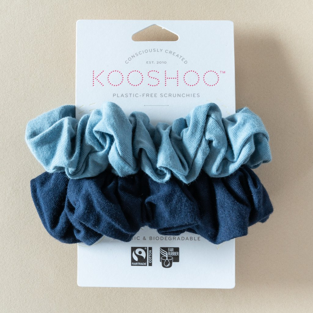 Kooshoo scrunchie Evening Sky 4536