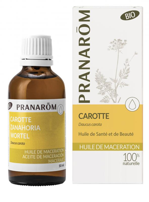Pranarôm Carrot vegetable oil (Daucus carota) 50 ml 4536