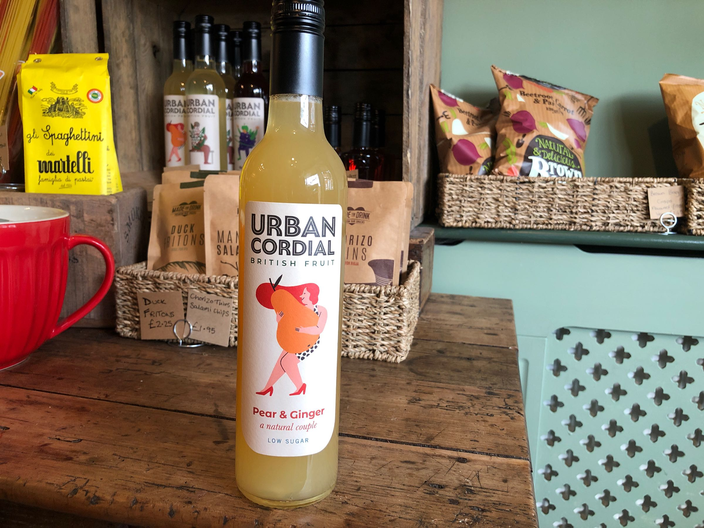 The Urban Cordial Company Pear and Ginger 500ml