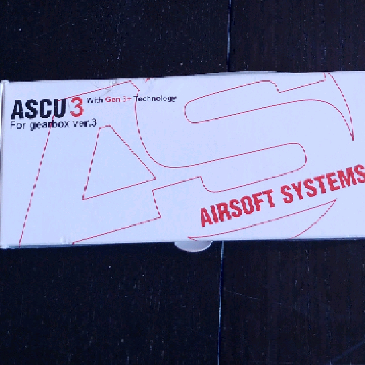 Airsoft systems ASCU 3 för V3-gearbox