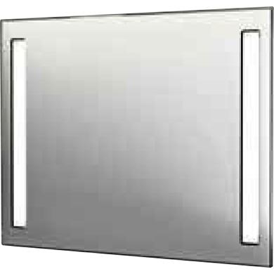 Speil med Lys og stikkontakt 50x70cm