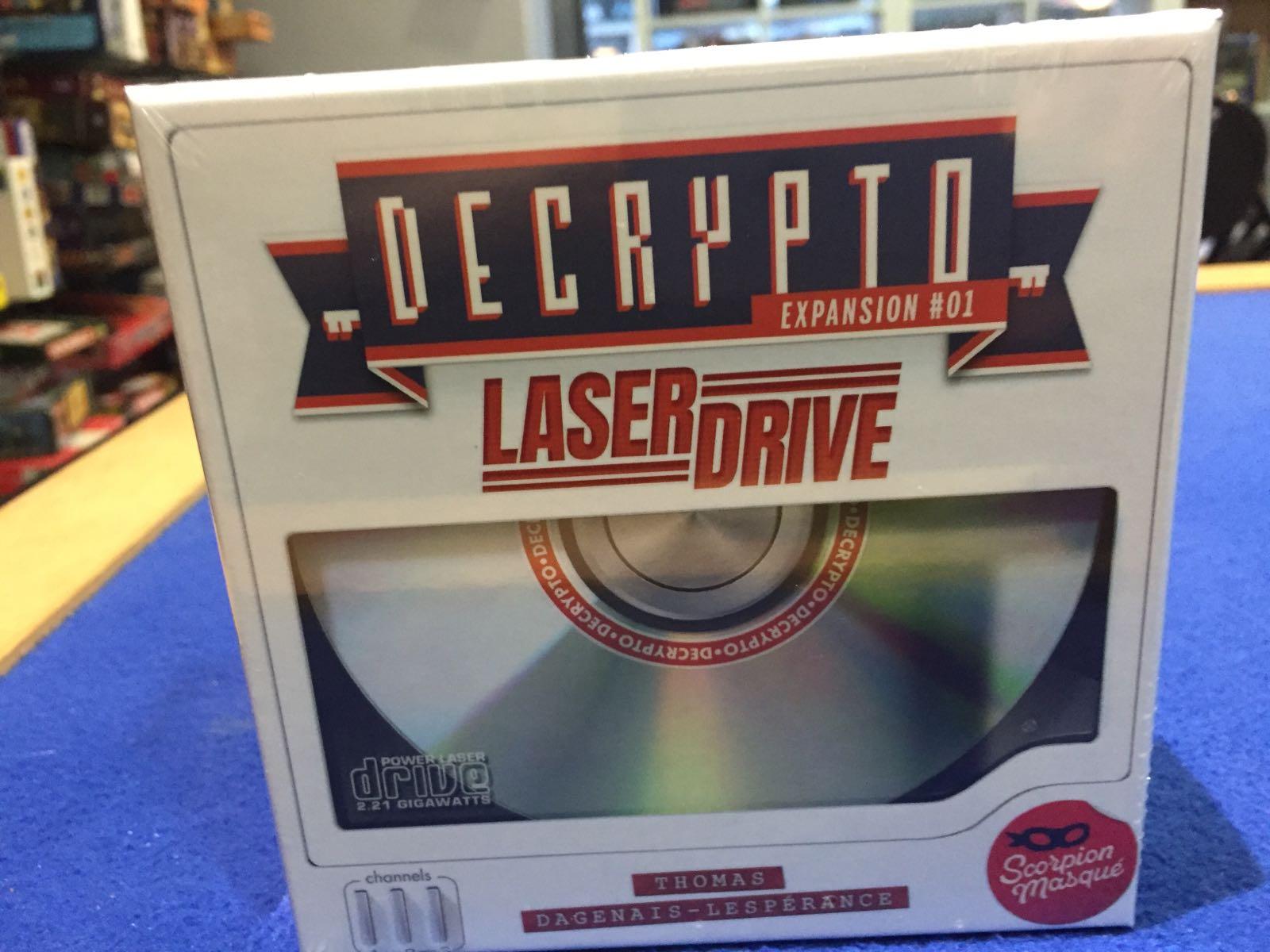 Laserdrive: Decrypto Expansion