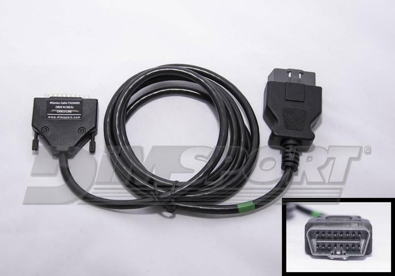 NEW GENIUS - OBDII cable with double CAN signal for Volvo F32GN065