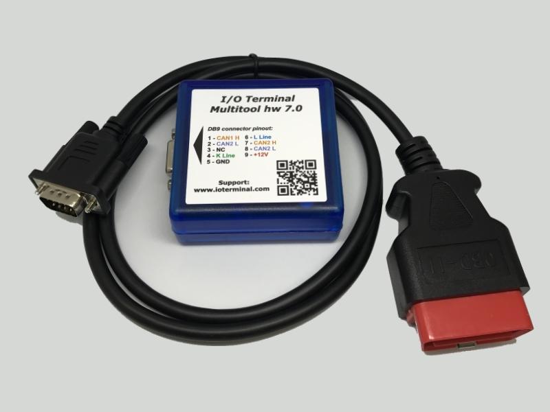 I/O Terminal Tool med Bosch plugin