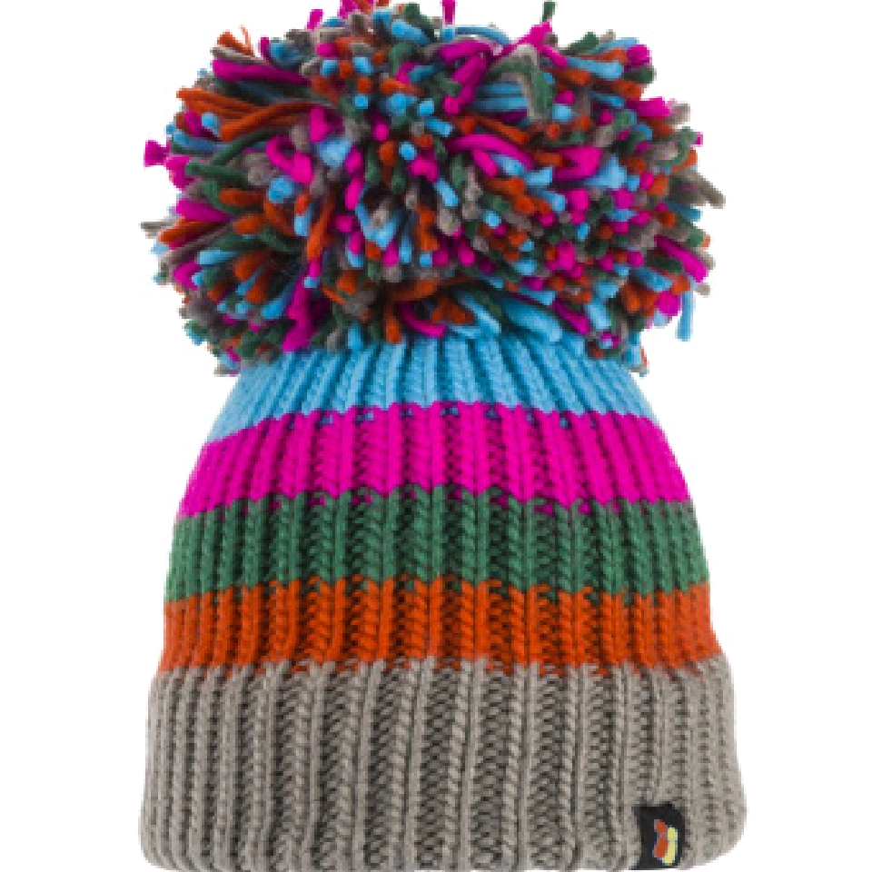 Rainbow Warrior Big Bobble Hat