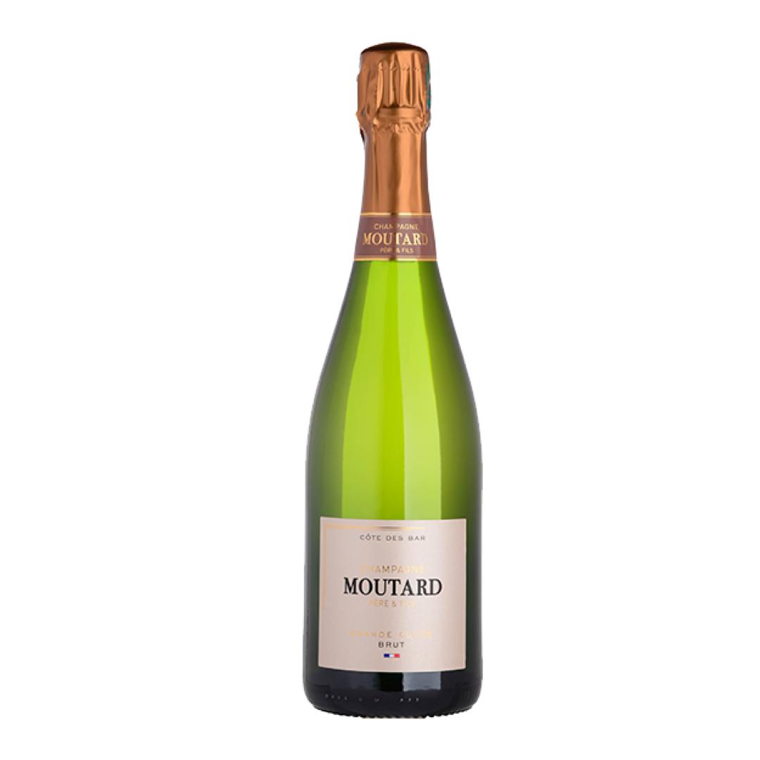 Grand Cuvee Brut NV, Champagne Moutard, Cote de Bar, France