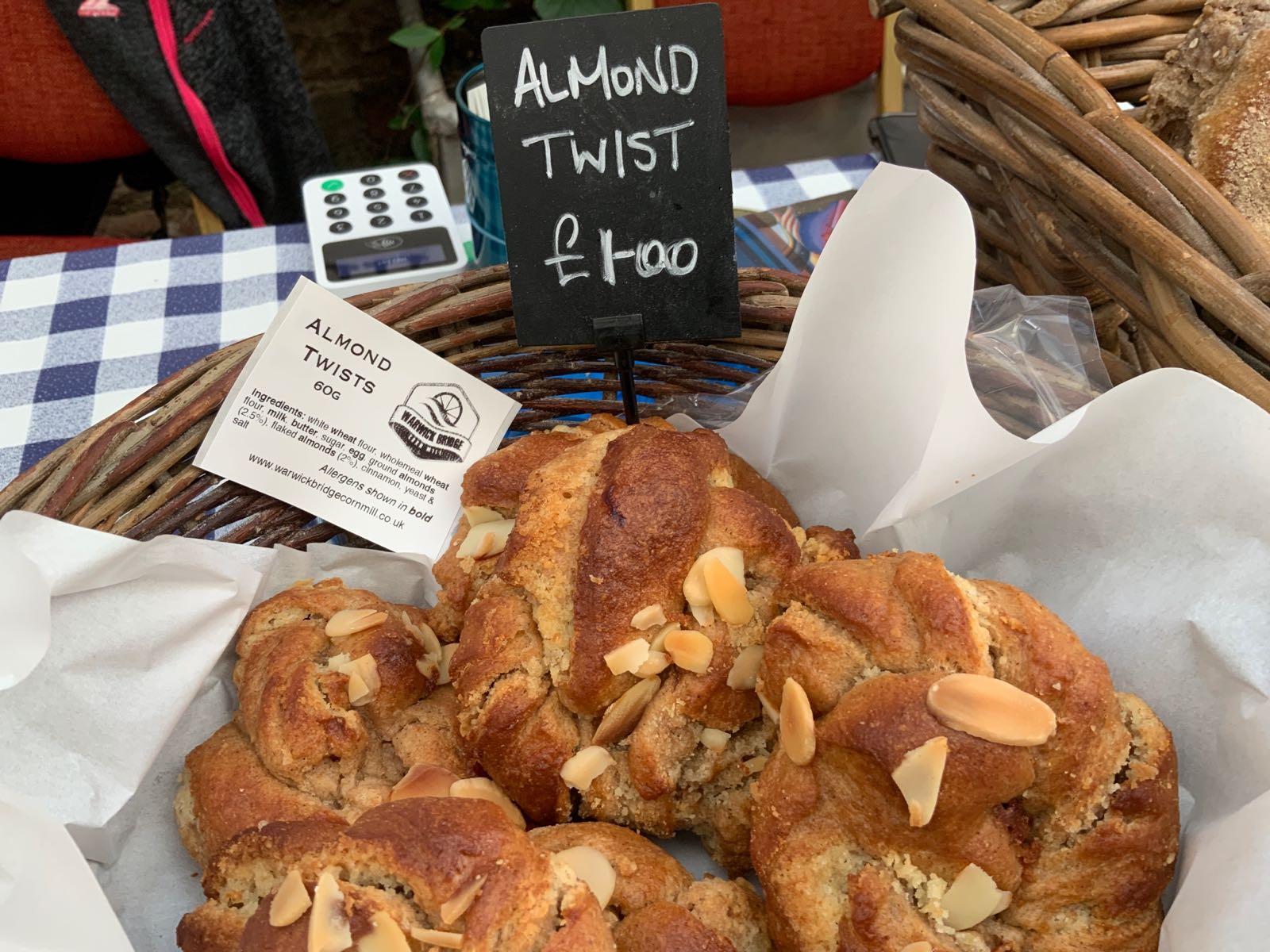 Almond Twists