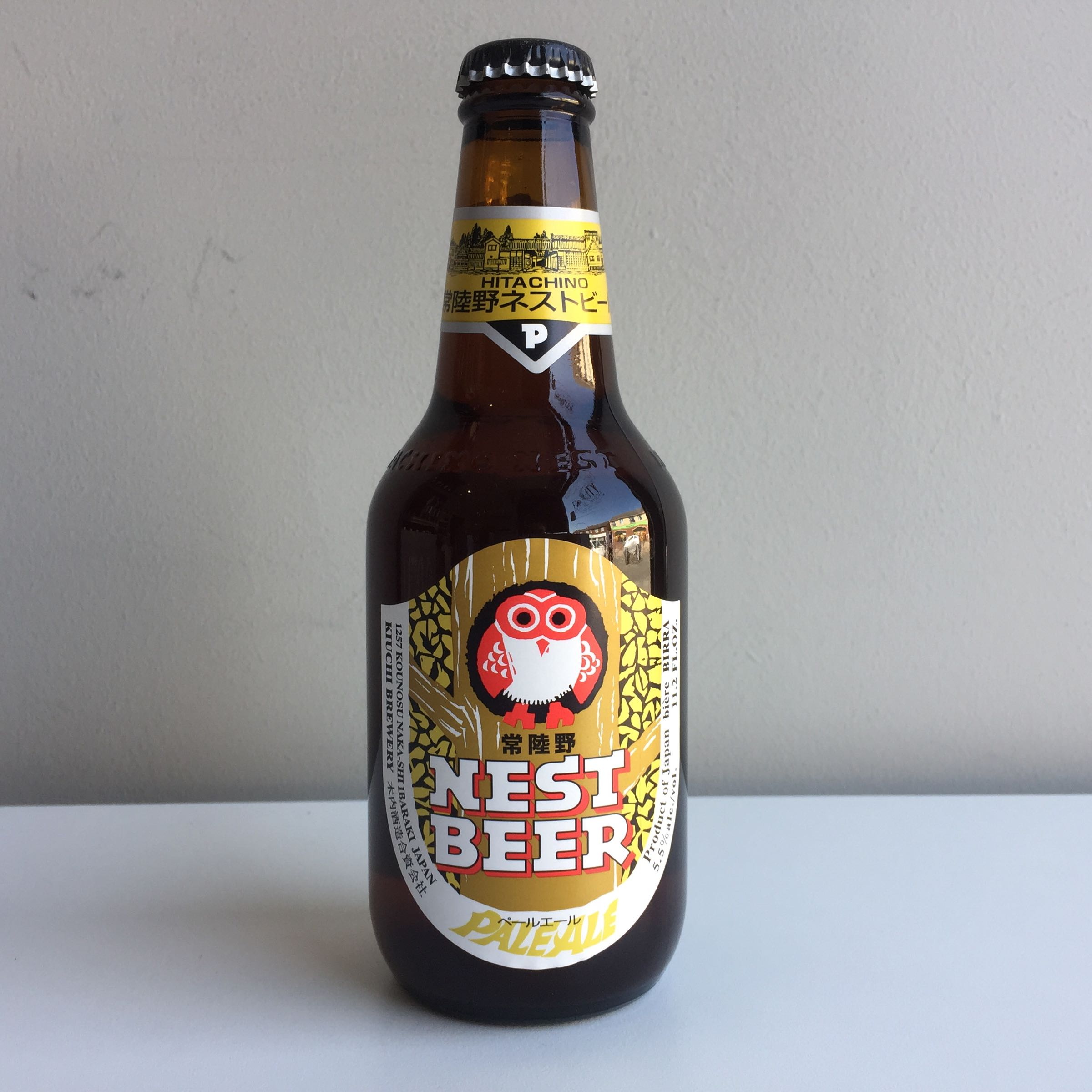 Hitachino Nest Pale Ale 330ml 5.5% ABV