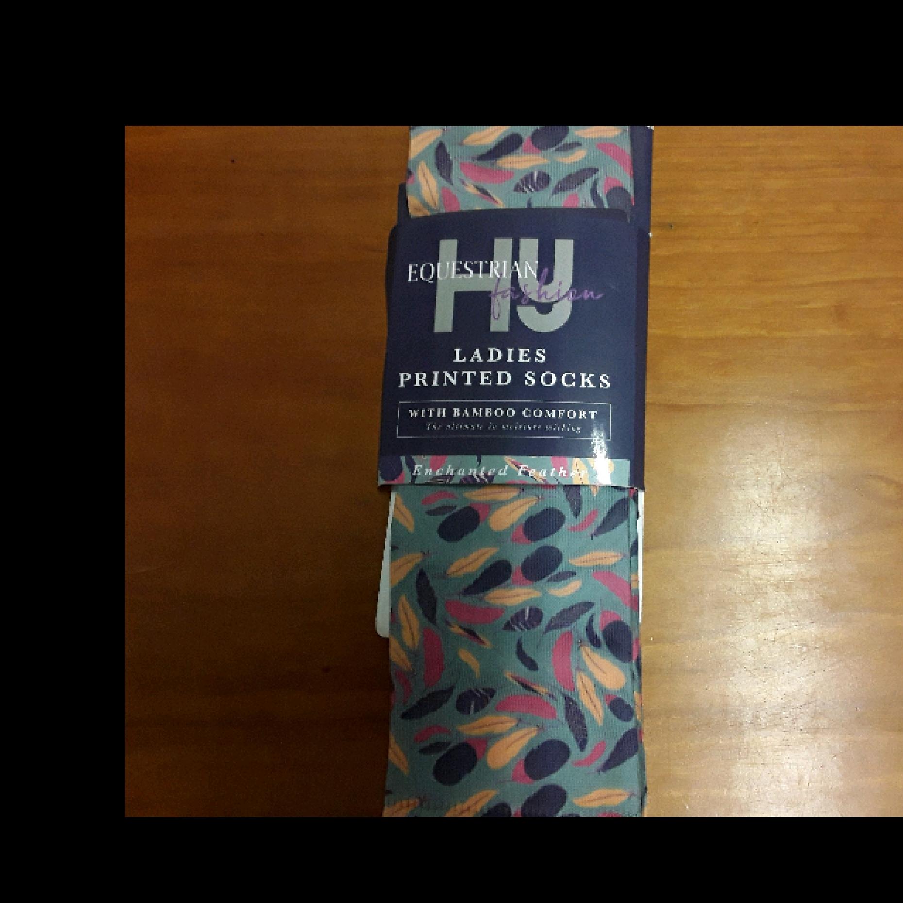 HY Ladies Printed Socks (One Size)