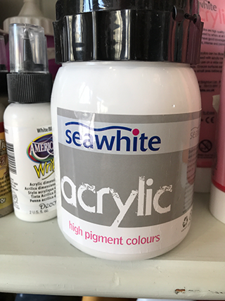 Acrylic White 500ml