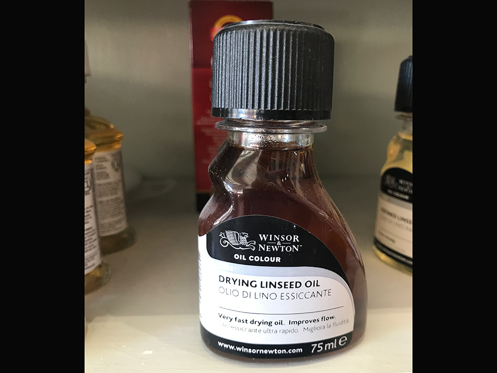 Drying Linseed Oil 75ml