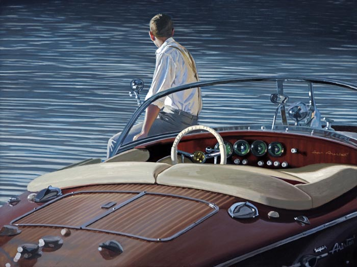 Contemplating Return : Limited Edition Print by Iain Faulkner (LAST COPY)