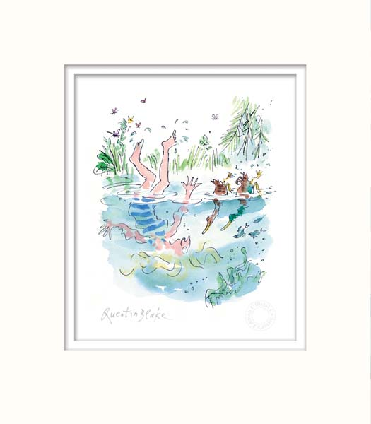 D is for Ducks - Quentin Blake