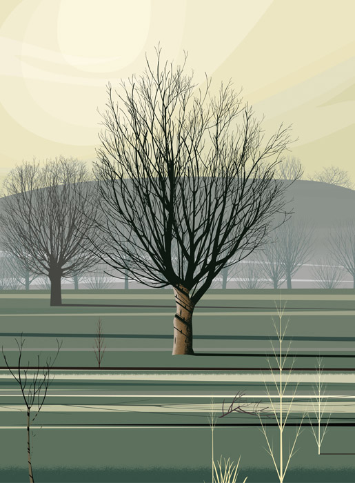 Morning Shadows - Dan Crisp - Original Giclee Print