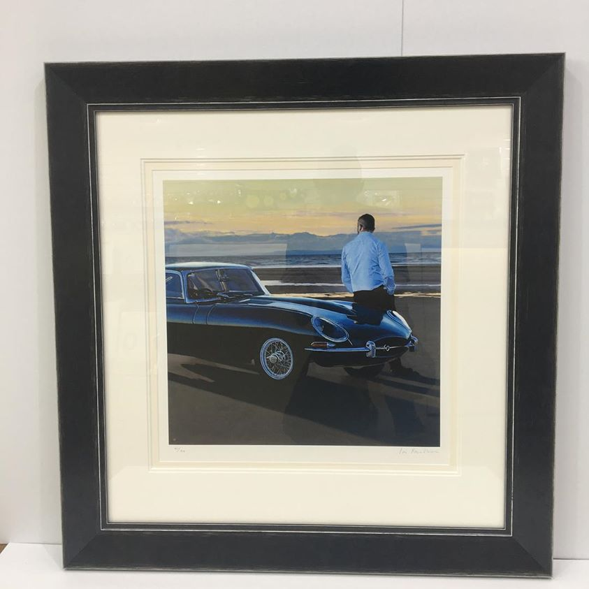 A Break In The Journey Limited Edition Giclee Print by Iain Faulkner
