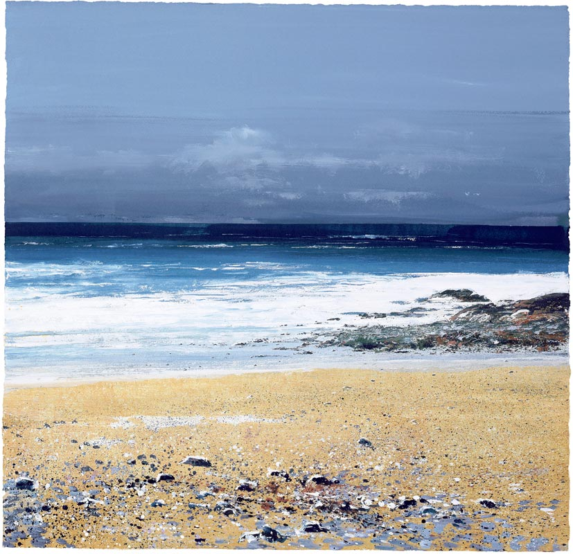 Atlantic Cove by Paul Evans - Giclée Print with Silk Screens