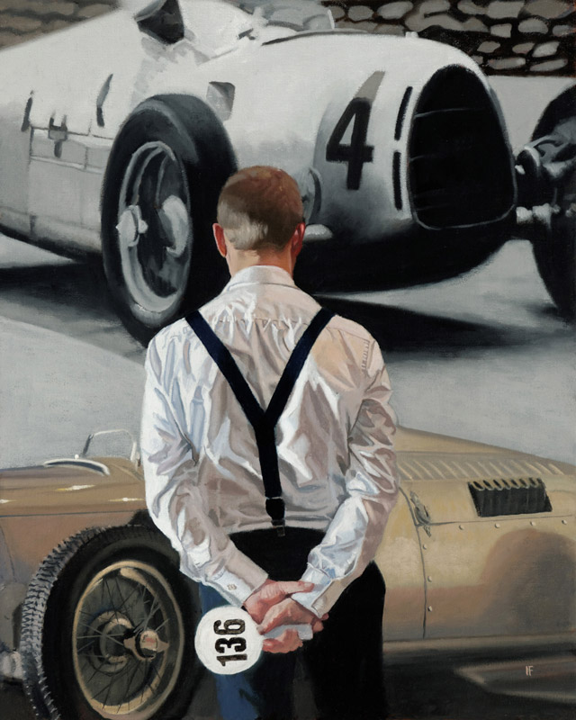 Auction Day - Iain Faulkner - Limited Edition Print