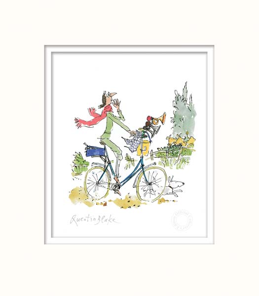 'What this bike needs' said Mrs Armitage - Quentin Blake
