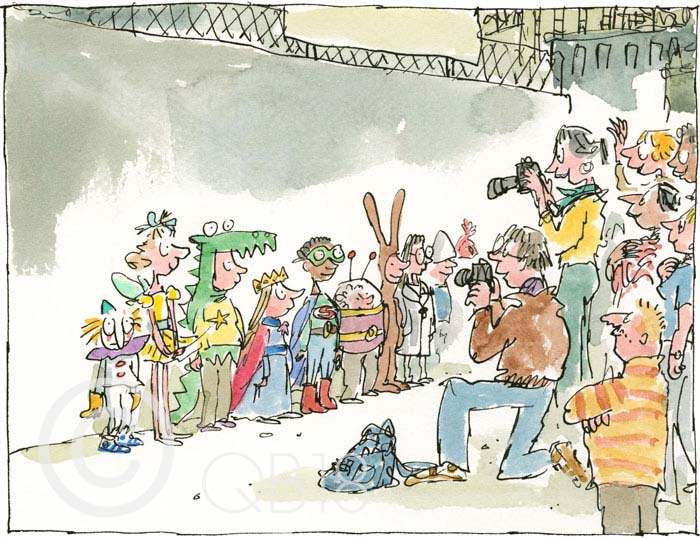 School Fancy Dress - Quentin Blake
