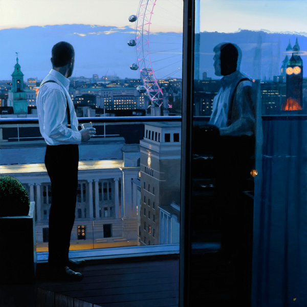 London Evening : Limited Edition Print by Iain Faulkner
