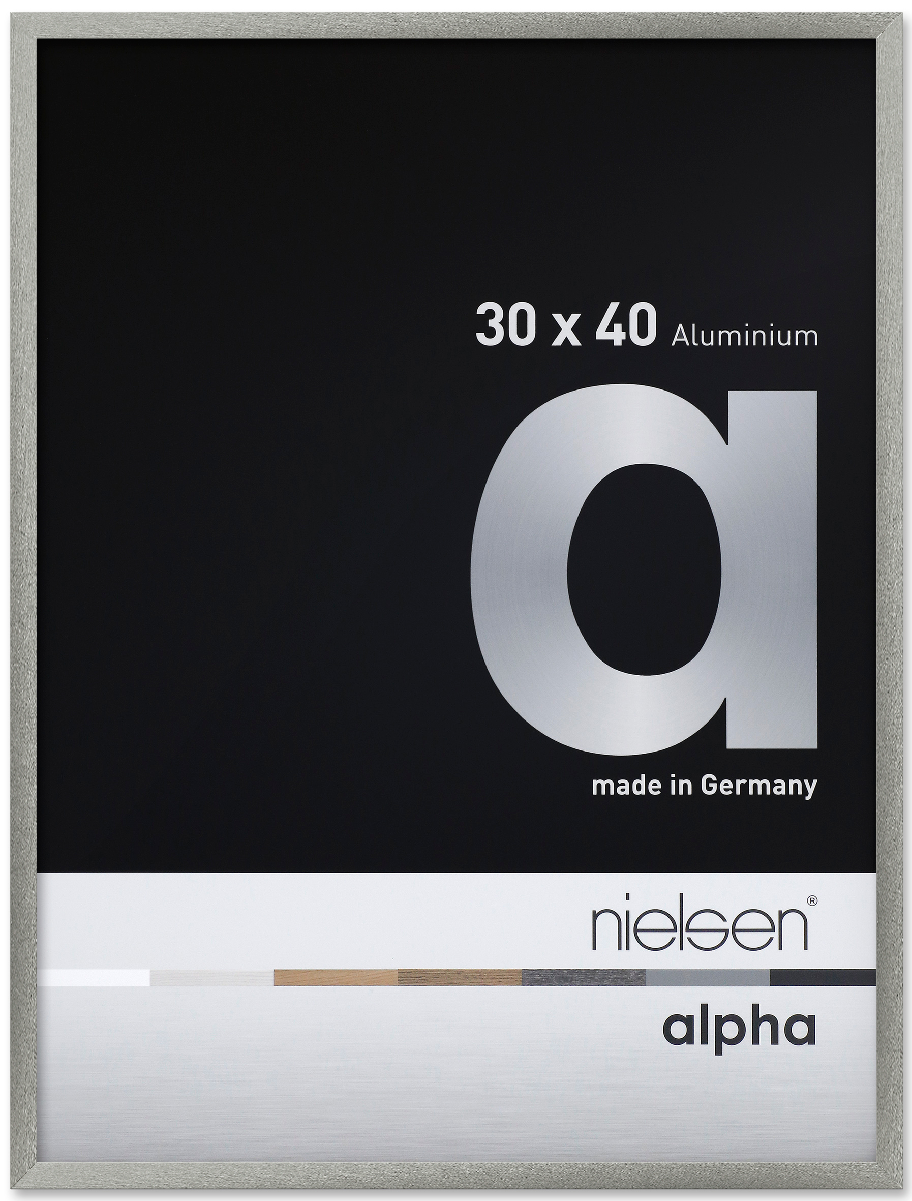Alpha Aluminium Designer Photo Frames (UK Stock).