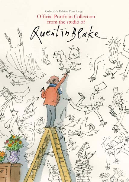 She isn't quite like other folk - Quentin Blake