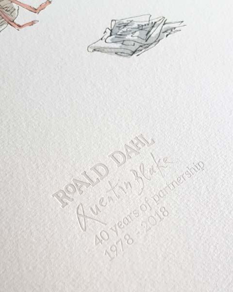 Roald Dahl & Sir Quentin Blake 40th Anniversary