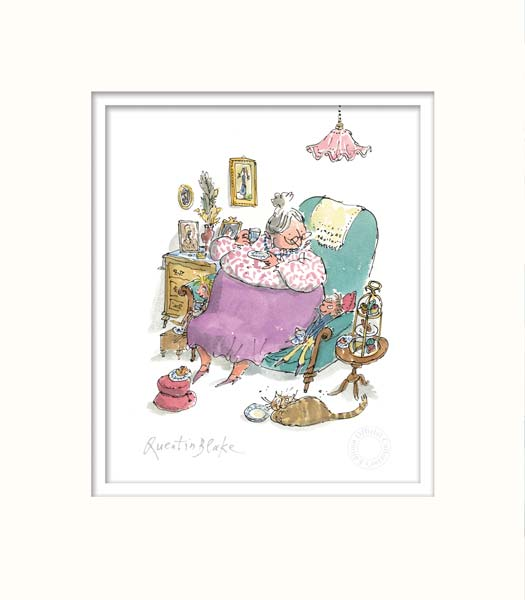 G is For Grandma - Quentin Blake