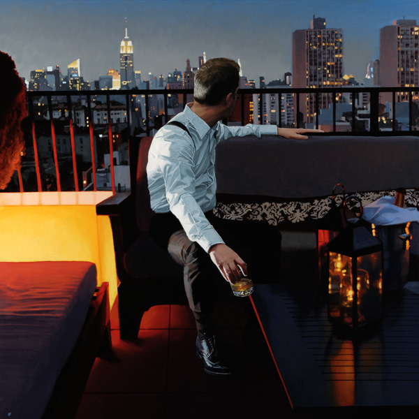NY VIEW : Limited Edition New York Print Iain Faulkner