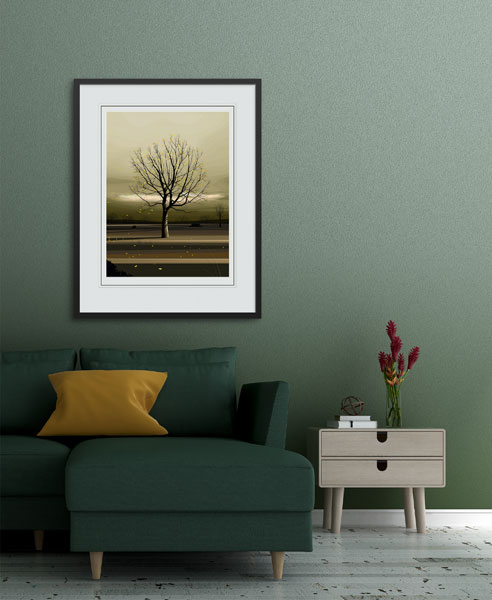 Gentle Breeze - Dan Crisp - Original Giclee Print