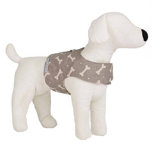 Mutts & Hounds Mushroom Bone Soft Dog Harness (Large) **Was £44.00 Now £26.40**