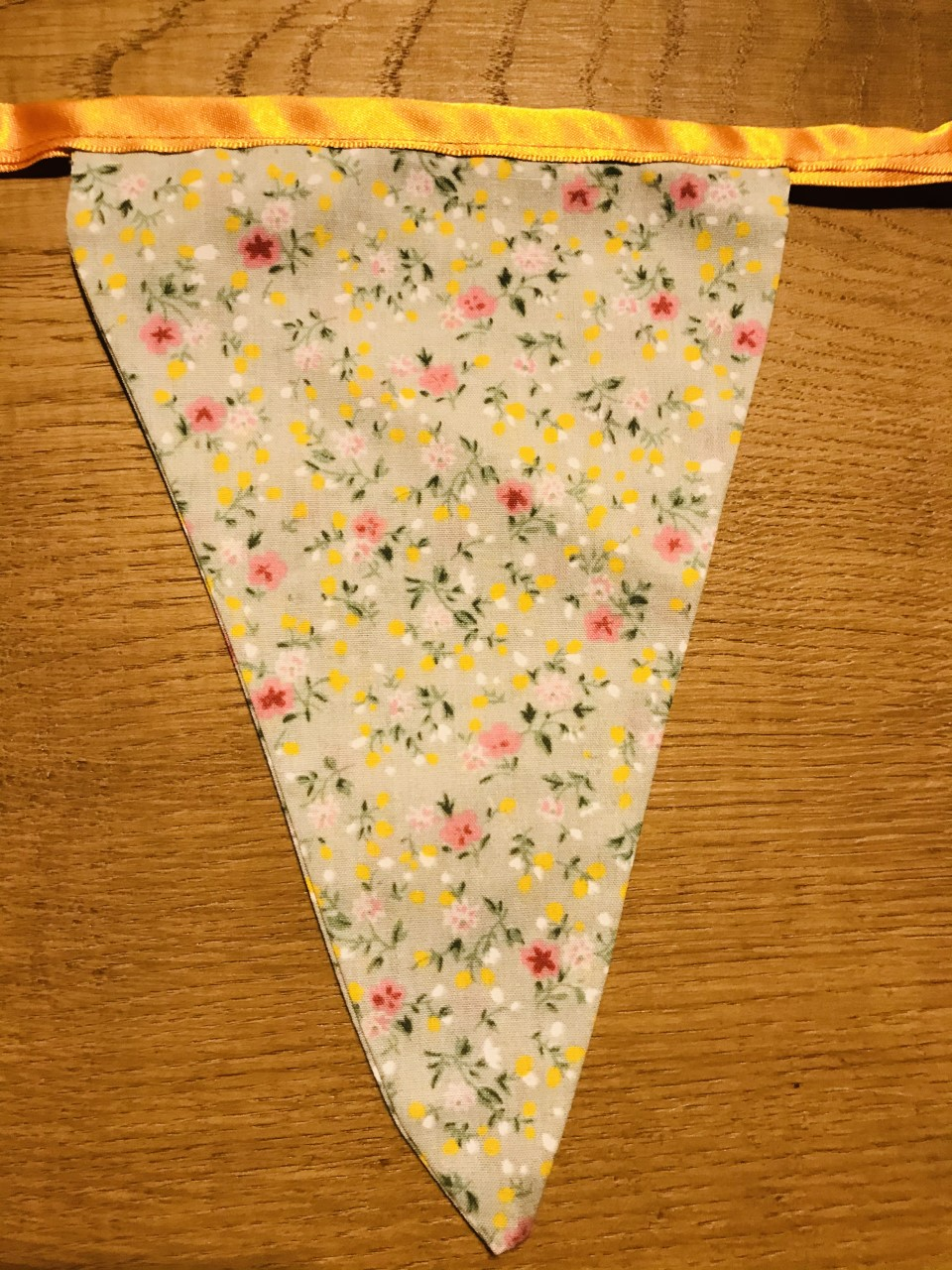 Bunting - Pink Dog/Springtime (3 metres) **Was £10.00 Now £5.00**