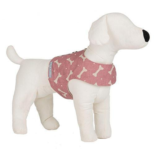 Mutts & Hounds Heather Bone Soft Dog Harness (Small) **Was £40.00 Now £24.00**