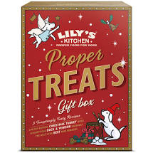 **Coming soon!** Lily's Kitchen  Christmas Meaty Treats Mixed Box for Dogs 150g