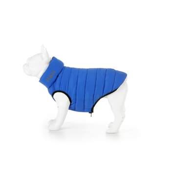 Hugo & Hudson Dog Puffer Jacket - Blue & Navy