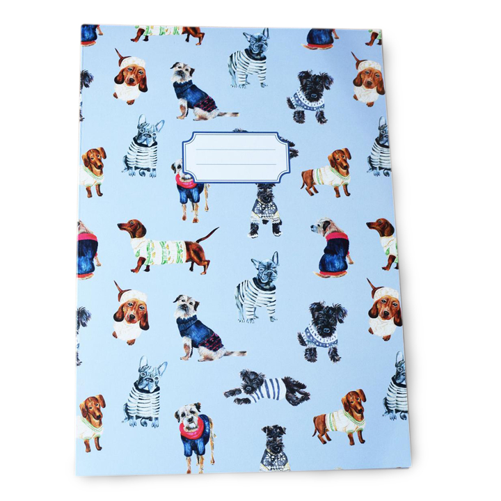 Dogs in Jumpers - Notebook
