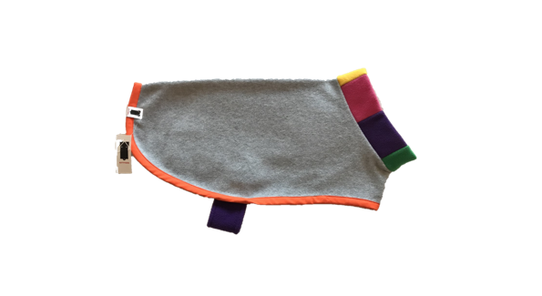 Kittydog Rainbow Jacket (Small/Medium) **Limited edition**