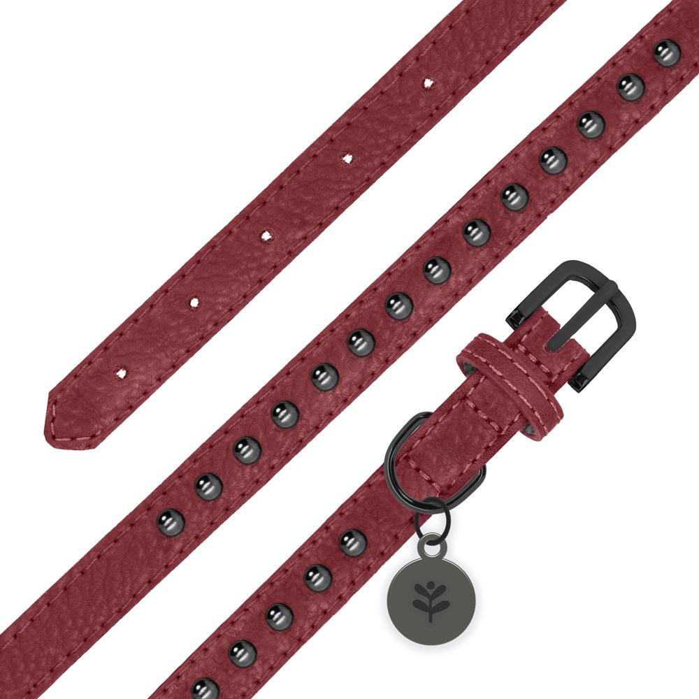 Sötnos Oxblood Studded Collar