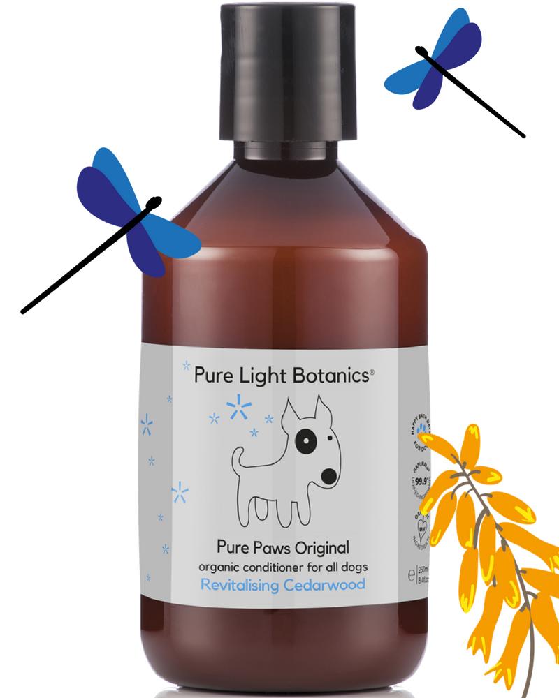 Pure Light Botanics Pure Paws Original Organic Dog Conditioner 250ml