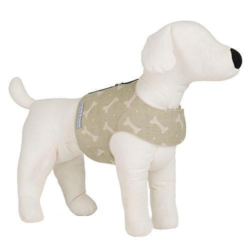 Mutts & Hounds Sage Bone Soft Dog Harness (Medium) **Was £42.00 Now £25.20**