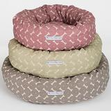 Mutts & Hounds Heather Bone Small Donut Dog Bed **Was £78.50 Now £47.10**