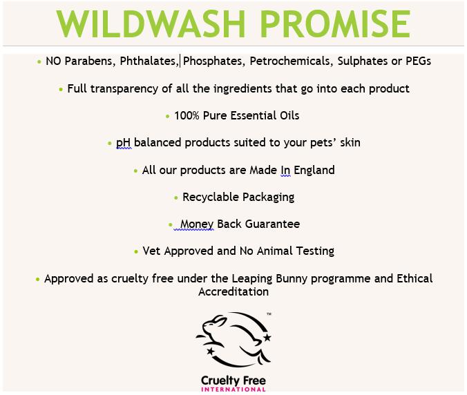 Wildwash Pet Shampoo Puppy Love 250ml