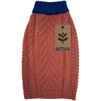 Sötnos Contrast High Neck Sweater