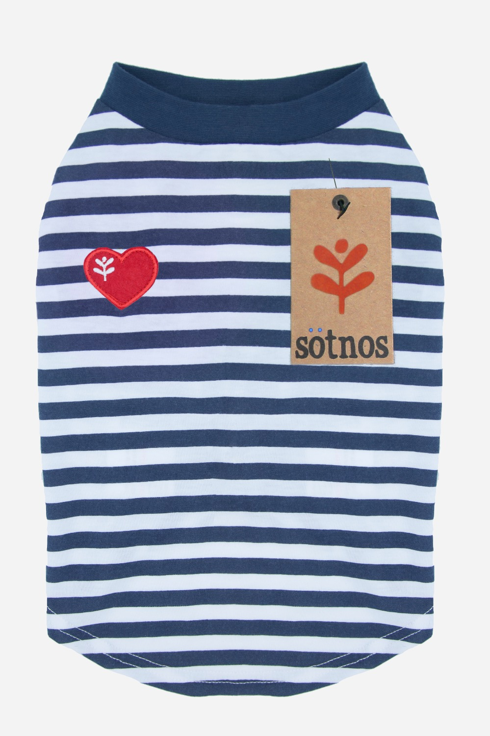 Sötnos Breton Stripe Red T-shirt