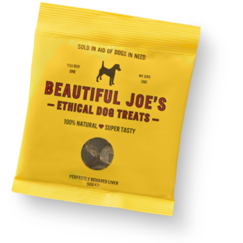 Beautiful Joe's Ethical Dog Treats 50g