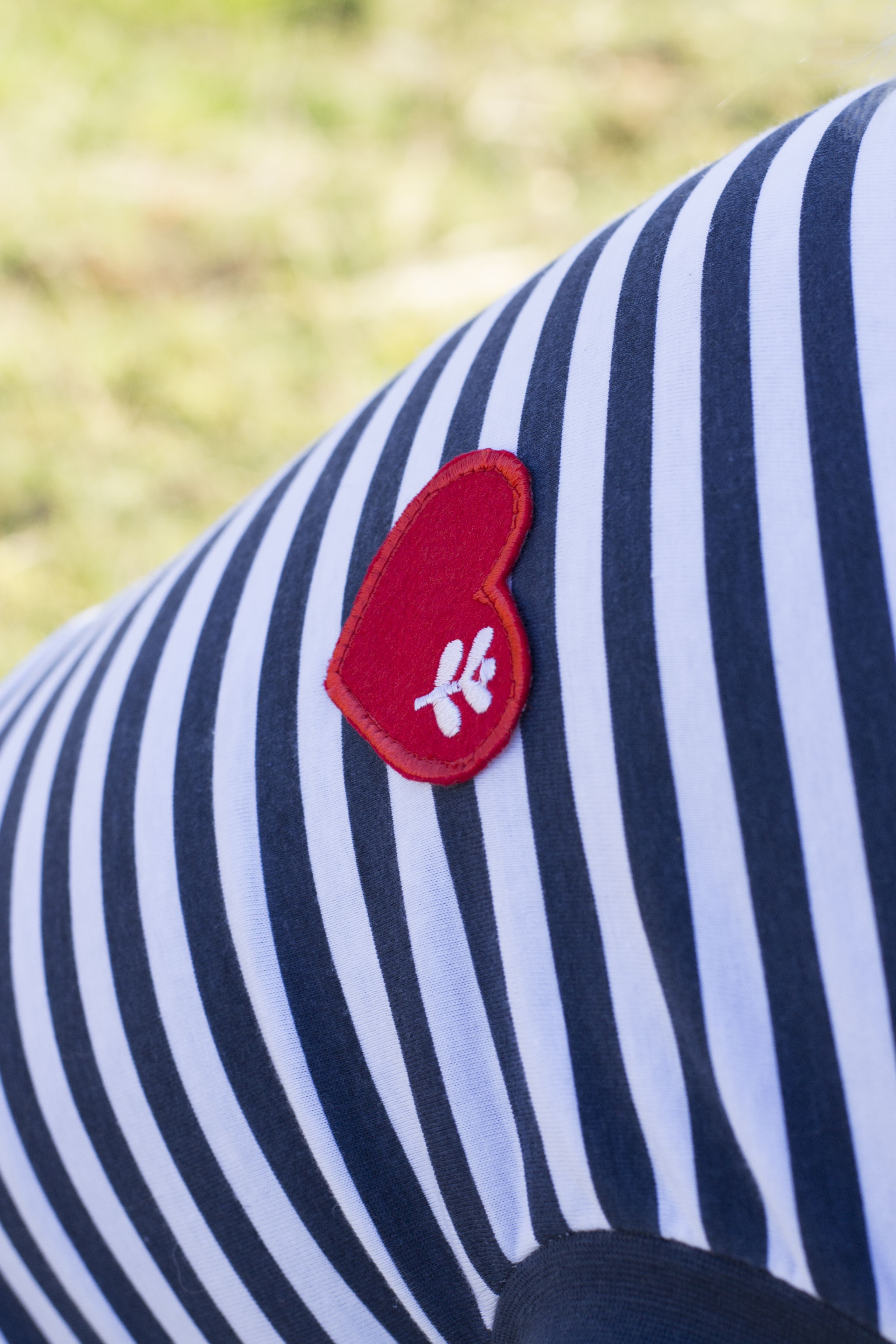 Sötnos Breton Stripe Red T-shirt