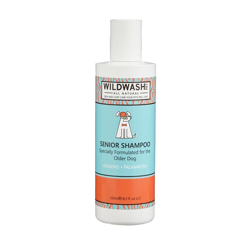 Wildwash Pet Senior Shampoo 250ml **Was £8.95 Now £5.95**
