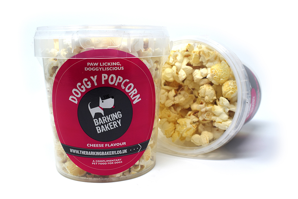 The Barking Bakery Doggy Popcorn