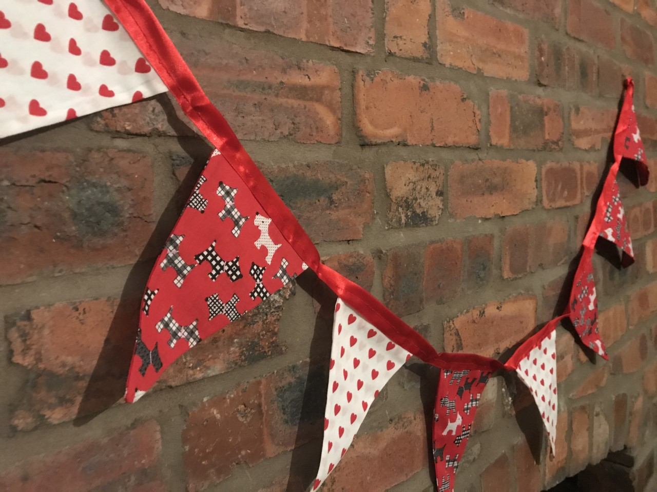 Bunting - Heart (6.5 metres) **Was £20.00 Now £10.00**